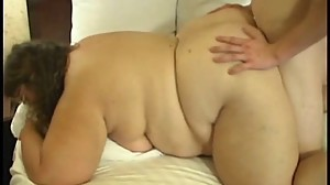 Cute BBW Sucks And Fuckd